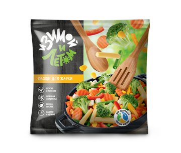 Смесь замороженных овощей для жарки