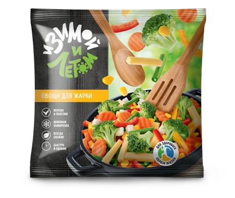 Замороженные овощи для жарки