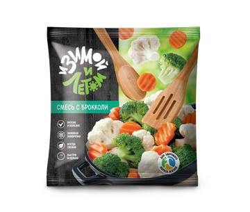 Смесь замороженных овощей с брокколи