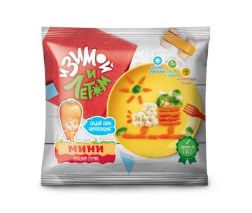 Смесь замороженных овощей для детского супа