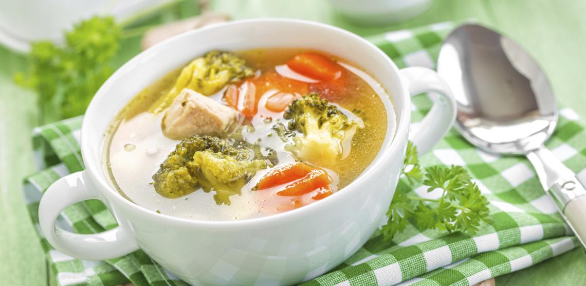 Овощной суп для детей рецепт